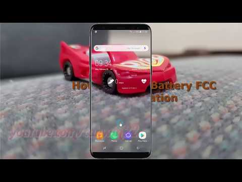 Android Nougat : How to check Battery FCC certification in Samsung Galaxy S8 or S8+