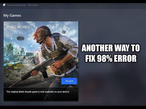 Alternative] How to Fix 98% Error / Issue When Starting