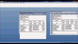 Eviews 7: Testing linear restrictions in regression - PakVim net HD