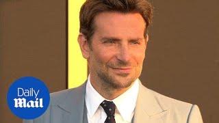 Bradley Cooper dapper in baby blue at