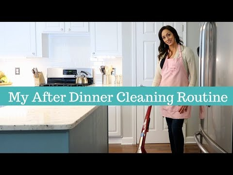 My After Dinner Cleaning Routine | Clean With Me