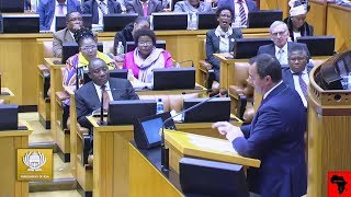 DA John Steenhuisen Giving Ramaphosa Good Advice