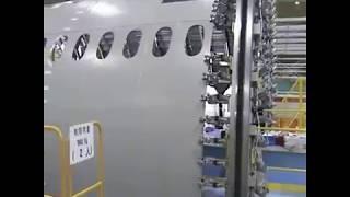 Making of Boeing 747.