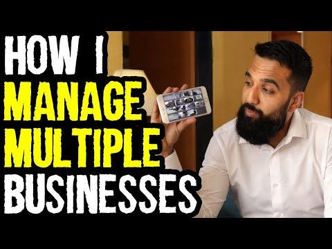 How I Manage My Businesses Remotely From Any Location | Azad Chaiwala Show