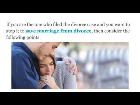 How To Stop A Divorce After Filing | dontgetdivorced