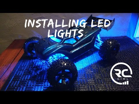 HOW TO UNDERGLOW ANY RC CAR  |  Installing LED light strips (on a budget)