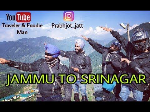 Part - 2 | Delhi to Ladakh | Jammu to Srinagar | JATT PRABHJOT