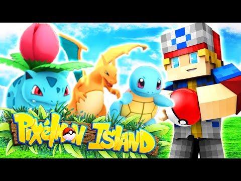 WELCOME BACK TO PIXELMON ISLAND! (Minecraft Pokemon) Pixelmon Island Episode 1