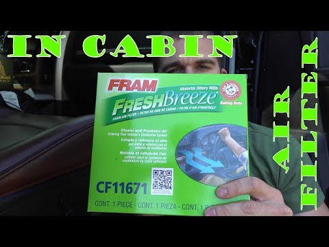 In Cabin Air Filter Install - RAM 2500