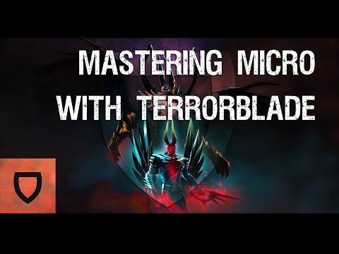 Dota 2: How to Micro With Terrorblade | How To Play Dota 2 | PVGNA.com
