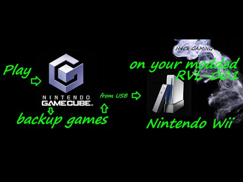 Setting up your  Wii to play Gamecube backups from USB