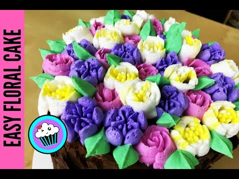 AMAZING cake for your Beautiful MOM! | Pinch of Luck