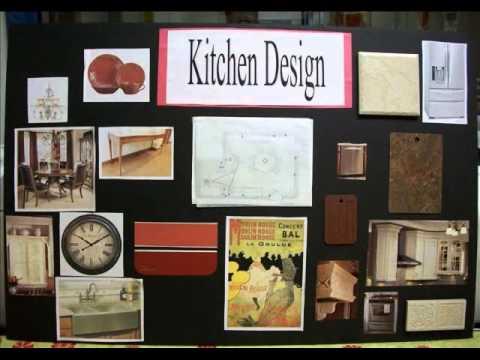 INTERIOR DESIGN: Presentation Board Video mov