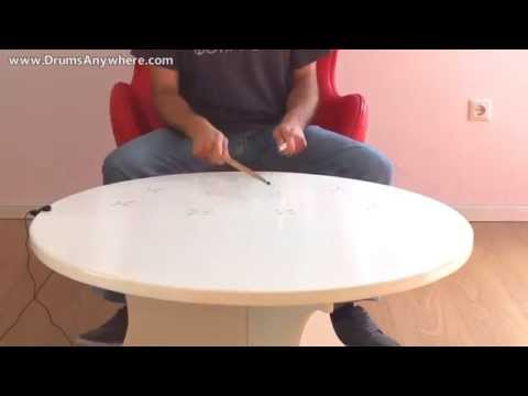 DrumsAnywhere: Turn your Table into an Electronic Drum Set.