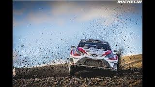 Leg 2 - Top Moments- 2017 WRC Rally Wales GB - Michelin Motorsport