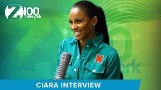 Ciara - Full Interview At Z100