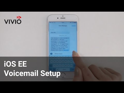 iOS EE Voicemail set-up