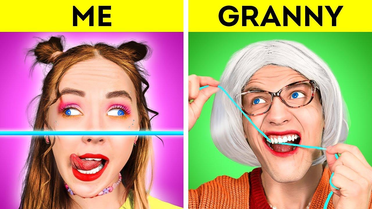 ME VS My GRANDMA | Funny Things Your Grandma Does || Relatable family musical by La La Life