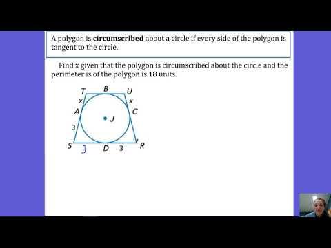 10.5 Polygon Circumscribed about Circle