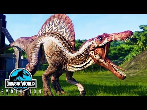 JURASSIC WORLD EVOLUTION #09 = SPINOSAURUS ATACOU TODO MUNDO