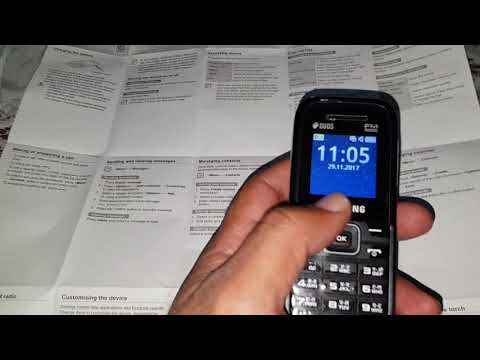 How to set speed dial in Samsung guru FM plus