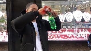 Pouring Lean at the Jewelry Store with Drakeo The Ruler