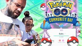 Adam22 and Lena Pokemon Go Community Day Vlog!