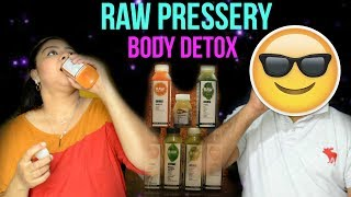 Raw Pressery Body Detox Drink || Nailzfashionista || Bangalore
