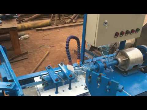 manual operation and semi-automatic chain link fence machine