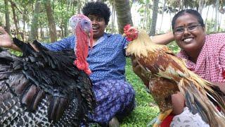 Masala Turkey Varuval | Traditional Country Chicken Gravy Recipe | Tasting with Irfan's View - Irfan