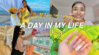 A DAY IN MY LIFE VLOG (shopping, nails, grwm, etc.)