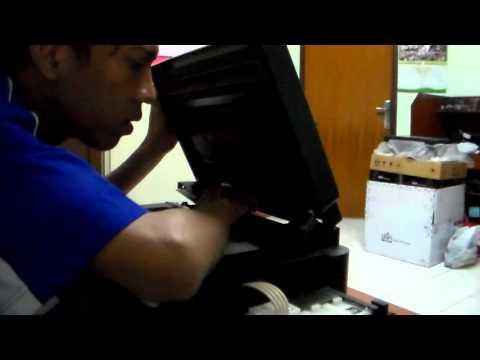 Membongkar part Epson L210 [part 1] Bagian Scanner