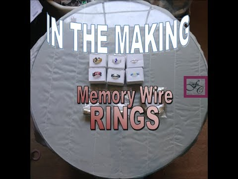 DIY: Memory Wire Rings
