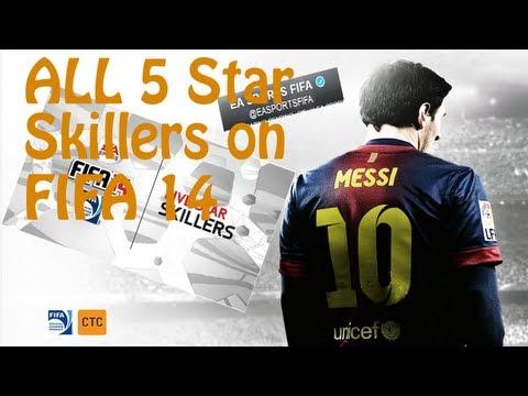 FIFA 14 NEWS | 'NEW' All 5 Star Skillers in FIFA 14 | Ft. Ronaldo, Neymar, Ibrah etc