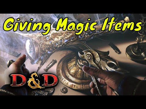D&D (5e): How many Magic Items for Players.