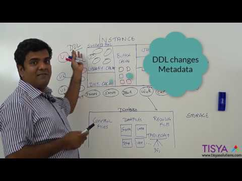 DDL statement processing in an Oracle Database - DBArch Video 9