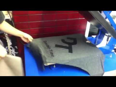 Vinyl heat press logo letter one off custom shirt at spectracolor in simi valley ca 805-581-0722