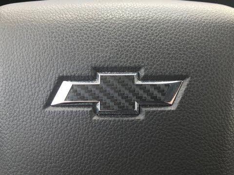how to install Chevy carbon fiber emblem for cheap