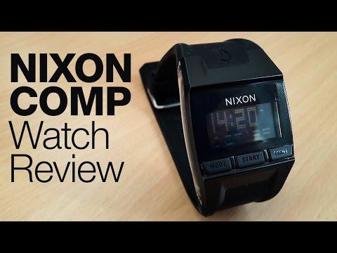 Nixon Comp (Black) watch review
