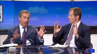 Brexit fallout: two years on from the EUref - Nigel Farage vs Alastair Campbell