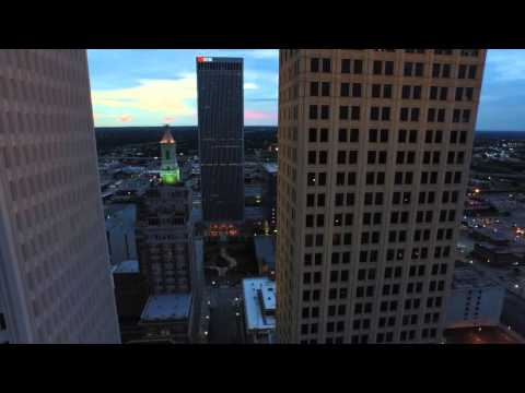 Night Lights // Houston Dallas Tulsa // DJI Inspire Drone 4K