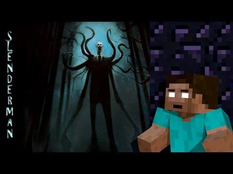 Monster School: SCARY SLENDERMAN ATTACK - Minecraft Animation