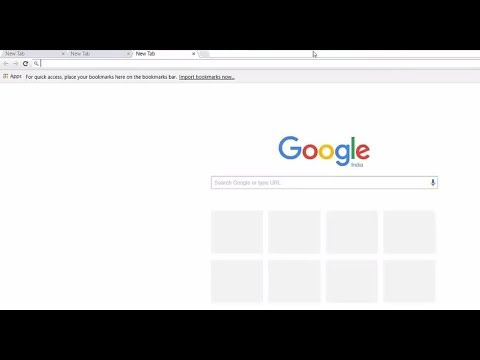Updated Google Chrome small address bar Fix