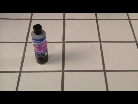 Restore Dirty, Faded or Washed Out Grout with Aqua Mix Grout Colorant