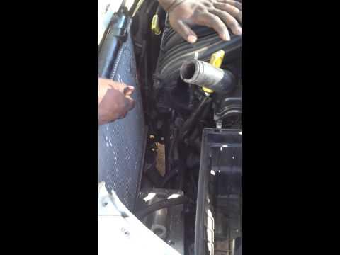 How to change radiator fan in 2001 PT Cruiser