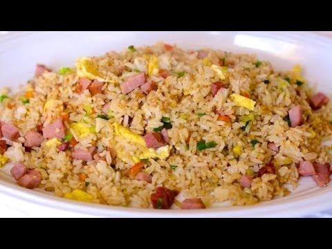 Kurobuta Ham and Eggs and Ham Fried Rice Recipes