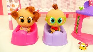 Distroller Toys Neonates - Potty Training Churro and Atole, No More Poopy Diapers!! and DIY Bedroom