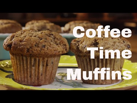 Coffee Time Muffins Recipe    Le Gourmet TV Recipes