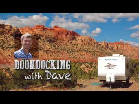 Using Google Earth to pinpoint RV boondocking locations