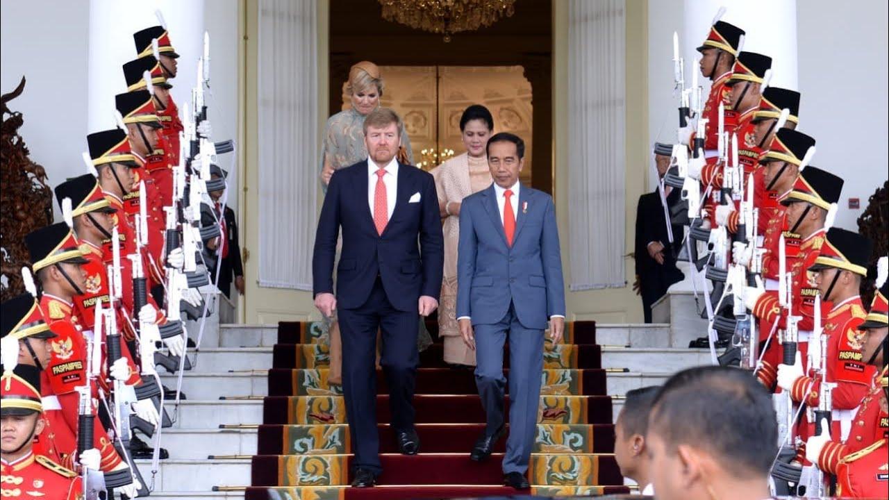 Rangkaian Acara Penyambutan Kenegaraan Raja dan Ratu Belanda, Istana Bogor, 10 Maret 2020